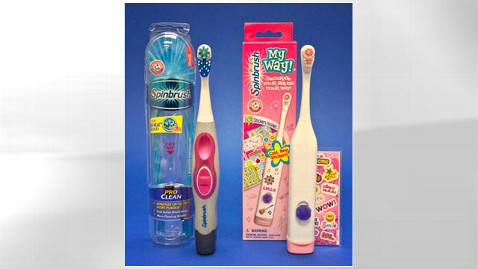 ht fda spinbrush toothbrushes nt 120216 wblog Is Your Powered Toothbrush a Choking Hazard?