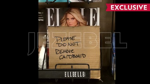 ht jessica simpson jp 120322 wblog Arizona Grocer Censors Jessica Simpsons Nude Pregnancy Cover