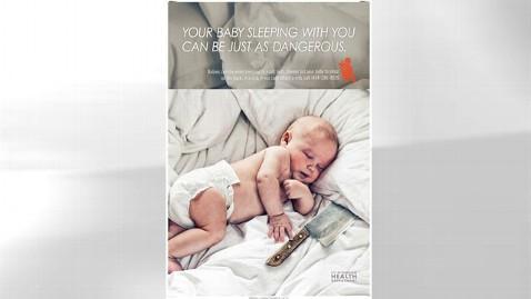 ht safe baby sleeping thg 111114 wblog Milwaukee Ads Wake Parents Up to Risks of Co Sleeping