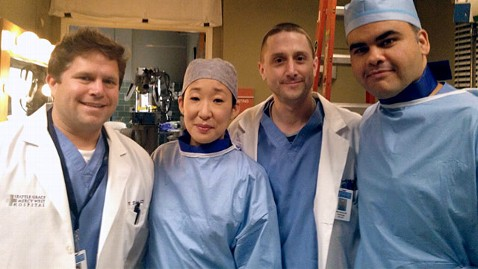 ht sandra oh uh case medical center ll 130215 wblog Cardiologist Makes TV Debut on Greys Anatomy