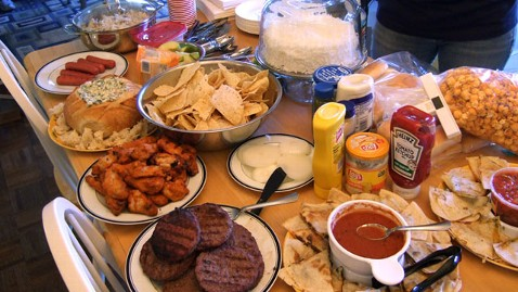 ht superbowl party food nt 130130 wblog Leftover Recipes for Chips, Dip and Wings