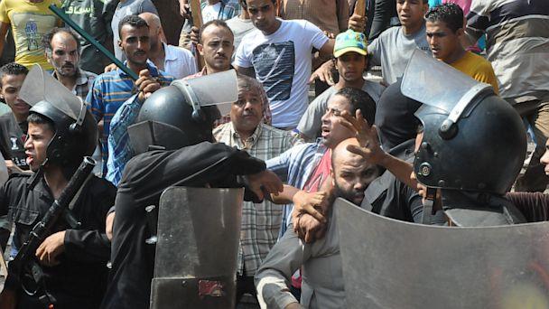 AP egypt clashes lt 130818 16x9t 608 At Least 38 Muslim Brotherhood Prisoners Shot Dead