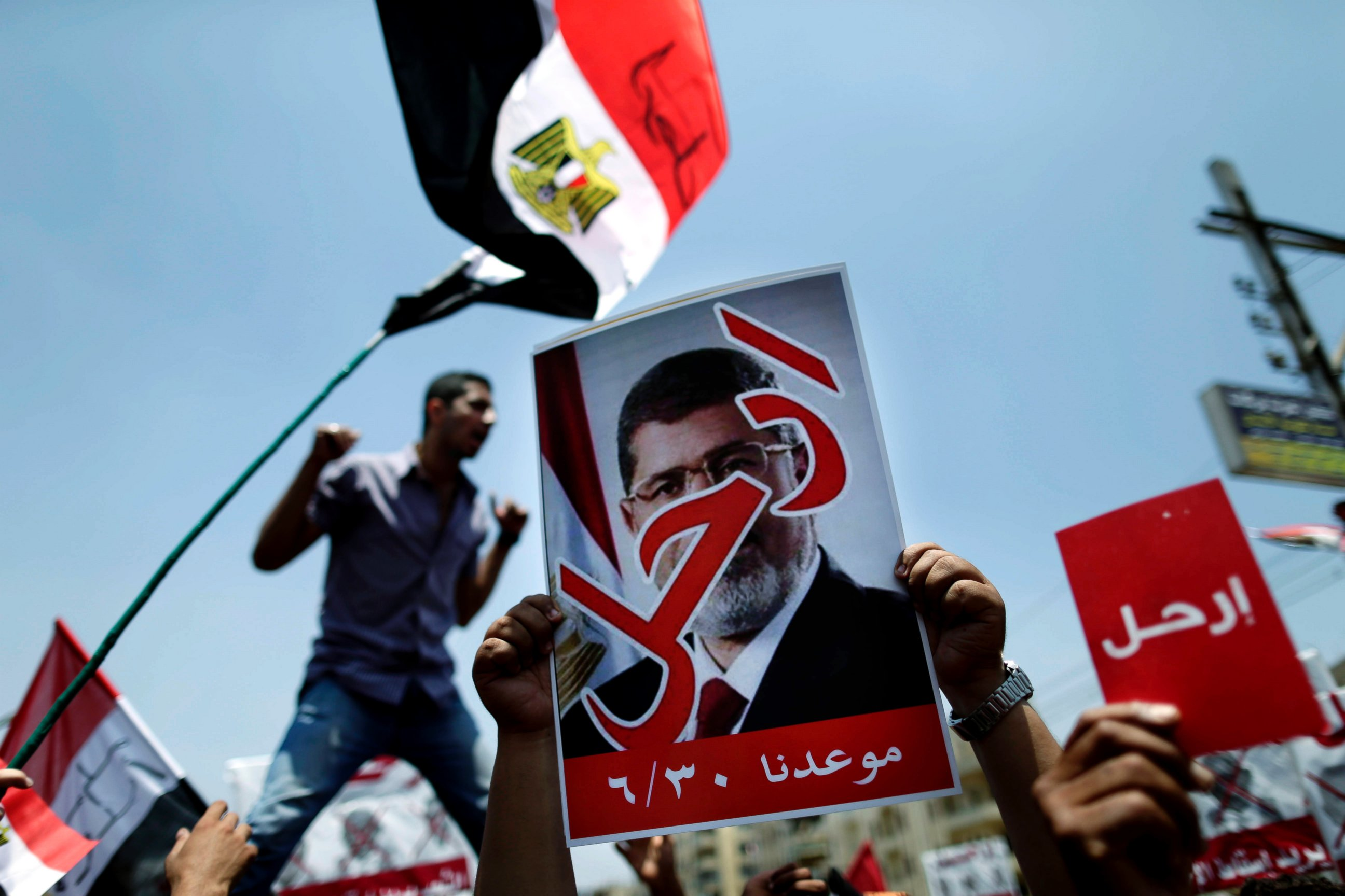 AP egypt protest lt 130630 Reporters Notebook: Millions March in Egypt Protests