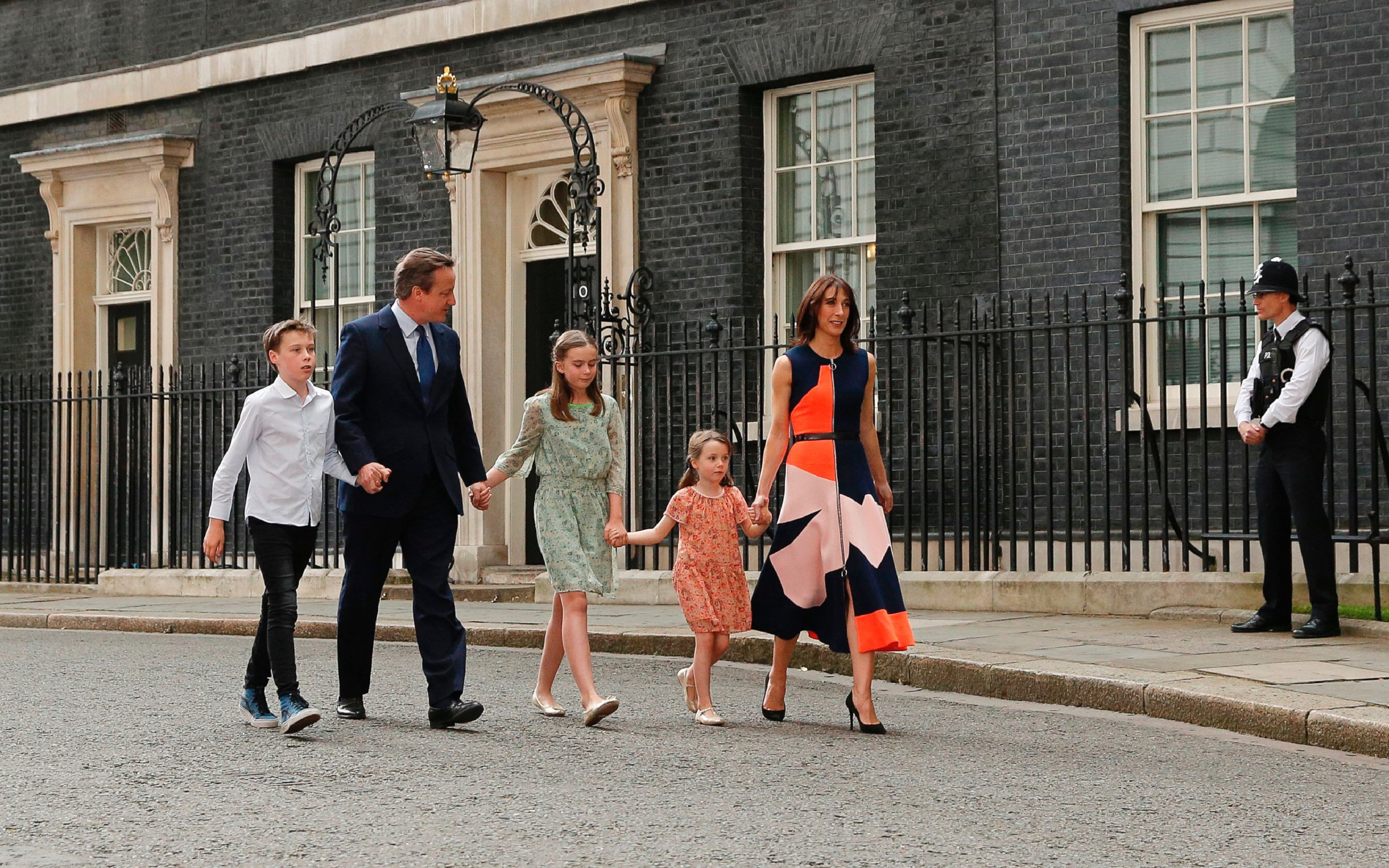 prime minister david cameron videos at abc news video archive at outgoing british prime minister david cameron leaves 10 downing street his wife samantha cameron and their children in london 13 2016