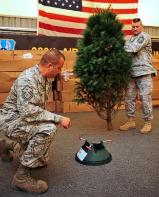 HT trees troops nt 131203 13x16 384 Trees for Troops: Free Christmas Trees Light Up Military Families
