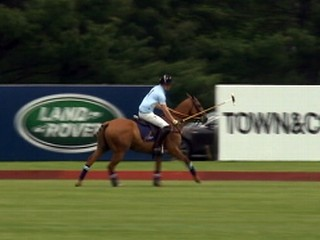VIDEO: Prince Harry Plays Polo in Connecticut
