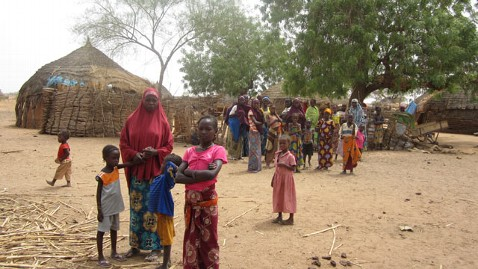 abc bazi niger village kb 120529 wblog Facing Hunger Crisis in West Africa, Families Pick Leaves, Berries to Survive