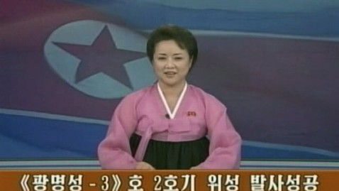 abc nkorea anchors 121212 wblog North Koreans Seeing Younger, Tamer TV Anchors
