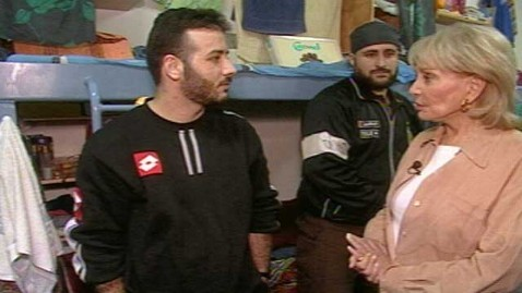 abc walters israeli prison kb 120705 wblog At Ease With Barbara Walters    and Hamas Fighters    in Israeli Prison