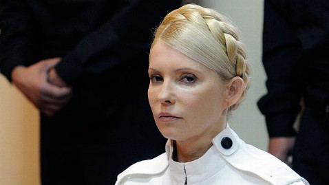 ap Ukraine Yulia Tymoshenko jt 120505 wblog Alleged Abuse of Former Ukrainian PM Causes Euro 2012 Boycott