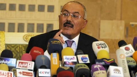 ap ali abdullah saleh jef 111227 wblog Sources: Yemens Ali Abdullah Saleh to Depart for Oman, then USA this week