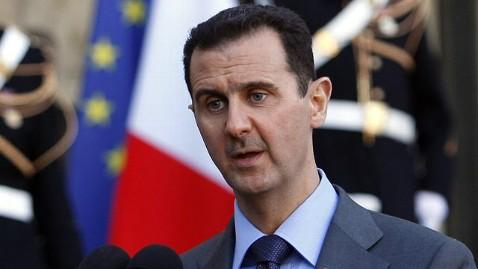 ap bashar al assad jef 120110 wblog Question of Time Before Syrias Assad Falls, Top US Intel Official Says