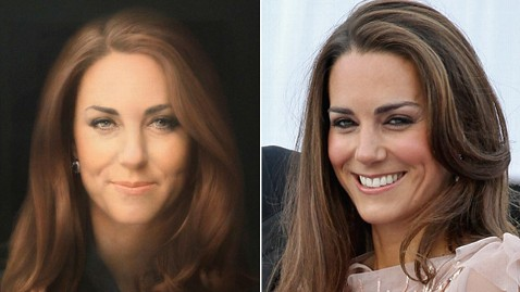ap catherine duchess cambridge kate middleton portrait ll 130111 wblog Instant Index: Kate Middleton Immortalized in Royal Painting