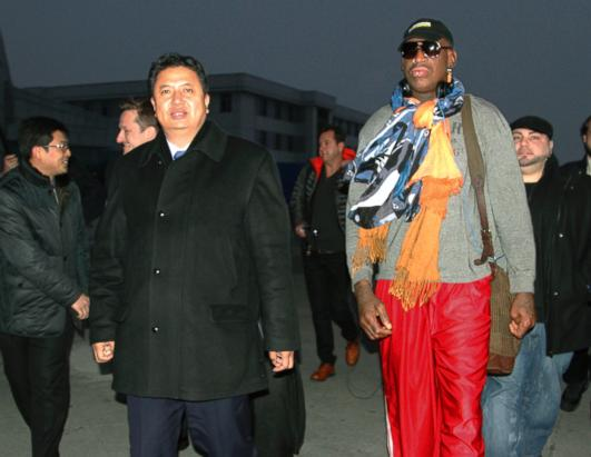ap dennis rodman north korea wy 131219 ssh Dennis Rodman Sings Pearl Jam Karaoke in North Korea