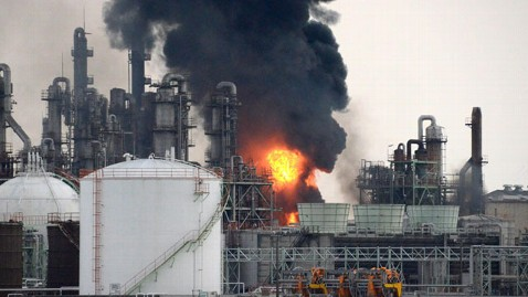 ap japan plant explosion lt 120929 wblog 1 Killed, Dozens Hurt in Japanese Chemical Plant Explosion
