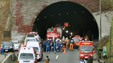ap japan tunnel collapse lt 121202 wblog At Least 8 People Dead After Japanese Highway Tunnel Collapses