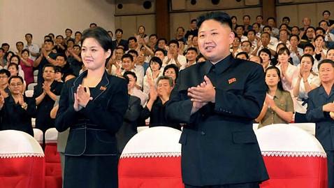 ap kim jong un mystery woman ll 120710 wblog Woman Seen With Kim Jong un Identified