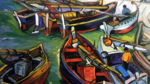 ap painting stolen fishing boats nt 121112 wblog Art Thieves Toss Most Valuable Piece