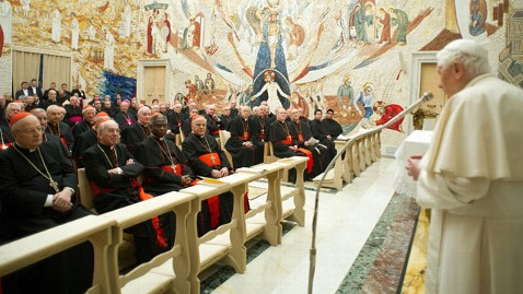 ap pope benedict lt 130223 wblog Vatican Furious Over False News Reports
