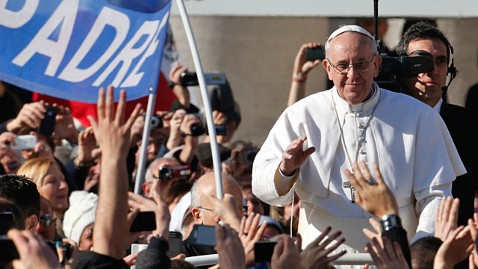 ap pope francis ll 130320 wblog Pope Francis Supported Civil Unions as Cardinal