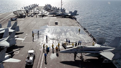 ap strait hormuz navy nt 120703 wblog US Increases Forces in Persian Gulf as Iran Tensions Rise