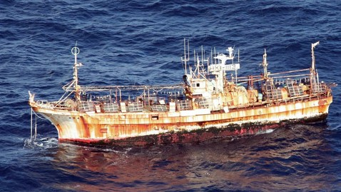 ap tsunami debris ship dm 120405 wblog US Coast Guard Blasts Japanese Ghost Ship to Sink It