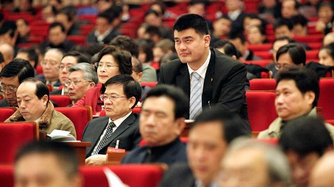 ap yao ming dm 120117 wblog Yao Ming Now Big Man in Shanghai Politics