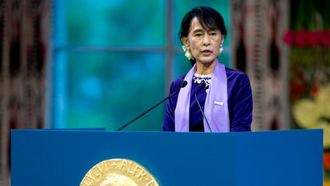 gty Aung San Suu Kyi jt 120616 wblog Obama To Meet With Aung San Suu Kyi Today