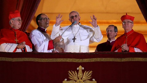 gty Bergoglio pope 3 nt 130313 wblog Pope Francis Official Schedule
