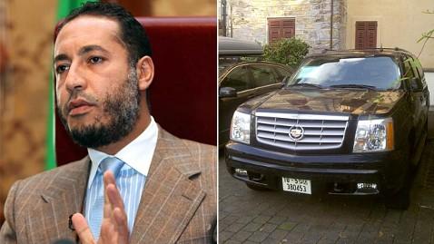 gty al saadi gadhafi cadillac ll 120706 wblog Gadhafis Cadillac Finally Impounded After 4 Years