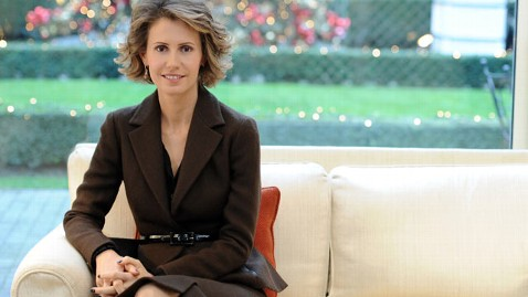 gty asma al assad wy 120418 wblog Ambassadors Wives  Scold Syrian First Lady to Stop the Violence