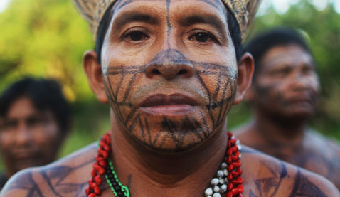 gty belo monte dam displaced tribe man thg 120618 wblog Brazils Belo Monte Dam to Displace Thousands in Amazon
