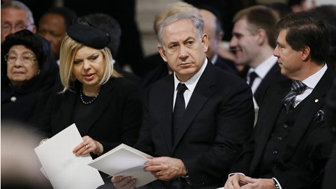 gty benjamin sara netanyahu ll 130513 wblog Netanyahus $140,000 In Flight Bed Becomes Political Nightmare