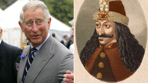 gty charles vlad impaler                       jp 111027 wblog Prince Charles Says Hes Related to                       Dracula