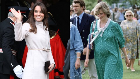 gty gty middleton diana split kb 121203 wblog Princess Diana Set Royal Motherhood Example for Kate Middleton
