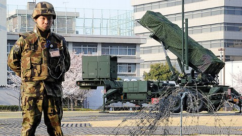 gty japan pac 3 missile dm 120413 wblog Japan Facing Criticism Over Botched Response to North Korean Missile Launch