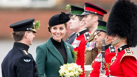 gty kate middleton irish guards jt 130317 wblog Instant Index: Girl Scout Hoax, Winged Daredevils, and the Royal Baby