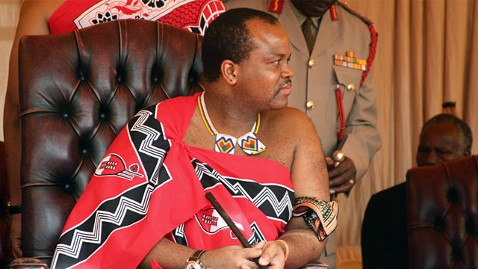 gty king mswati iii ll 120426 wblog Swazi Kings Birthday Jet Angers Some in Impoverished Kingdom