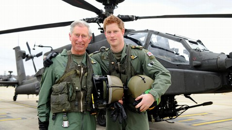 gty prince charles harry jef 121207 wblog Prince Charles Worries All the Time About Military Sons