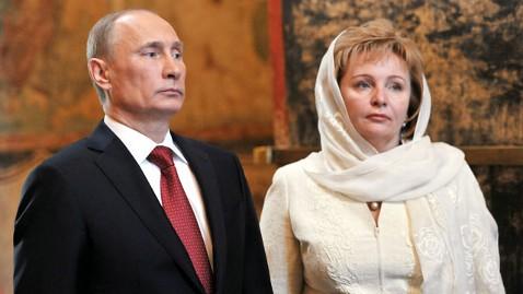 gty putin wife nt 130606 wblog President Putin Announces Split With Wife