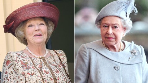 gty queen beatrix queen elizabeth nt 130129 wblog Could Queen Elizabeth Abdicate?