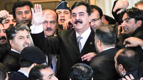 gty raza gilani dm 120213 wblog Pakistans PM Gilani Charged With Contempt of Court