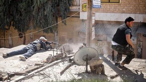 gty syrian rebels ll 120410 wblog Syrian Violence Jeopardizes Peace Plan