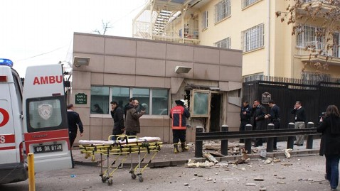 gty turkey embassy explosion jef 130201 wblog White House: Bombing At U.S. Embassy In Turkey A Terrorist Attack