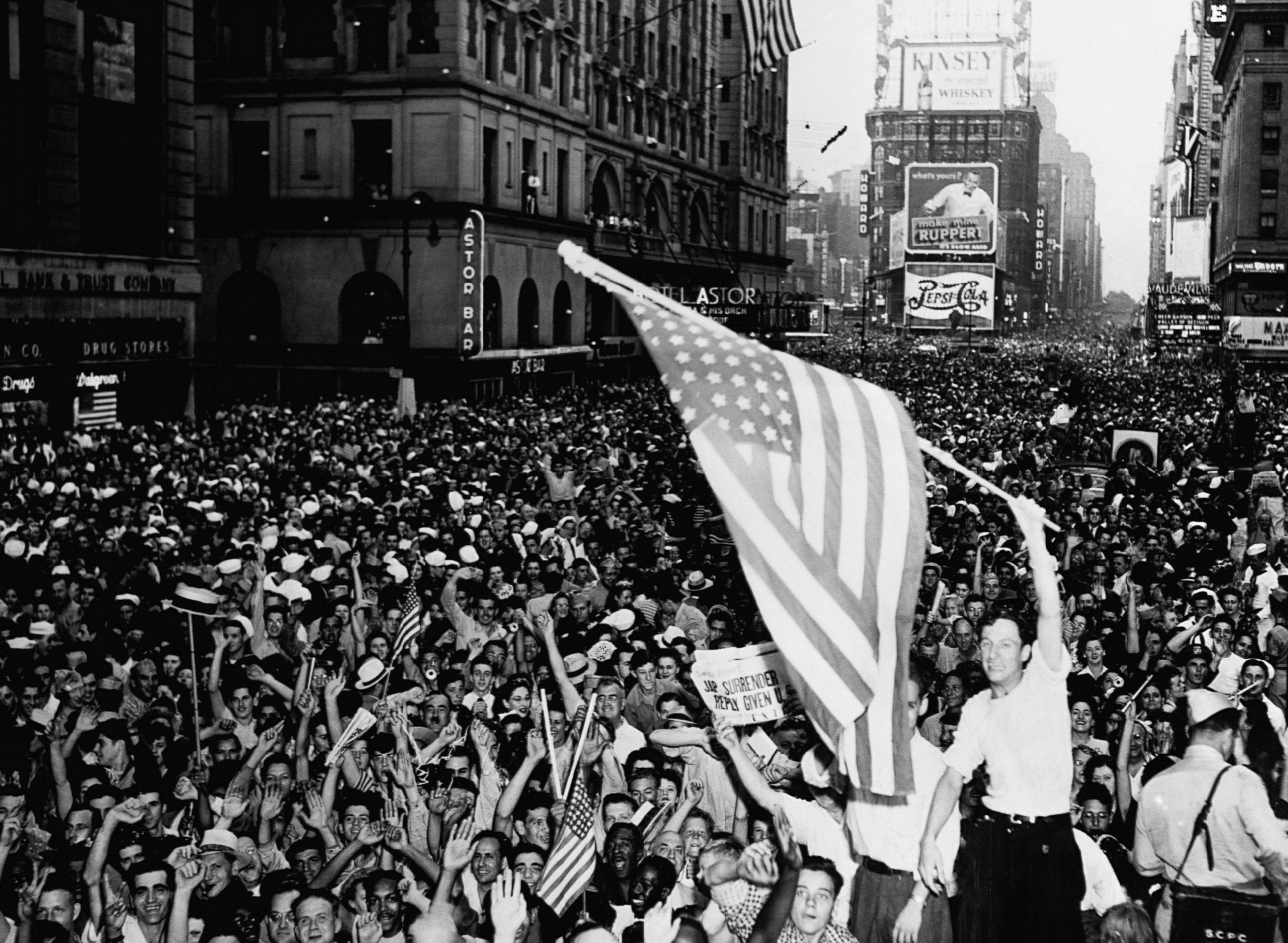 Image result for v e day celebrations 1945