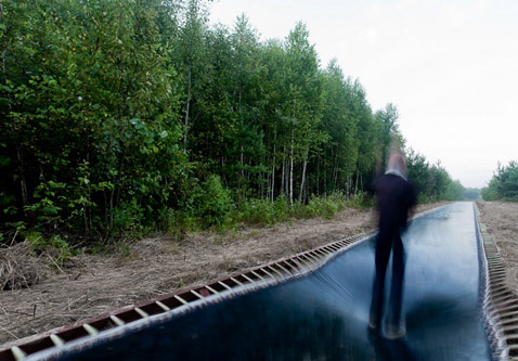 ht fast track 3 ll 121129 wblog 170 Foot Long Trampoline Installed in Russian Forest