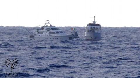 ht flotilla nt 111104 wblog Israel Blocks Activist Ships From Entering Gaza
