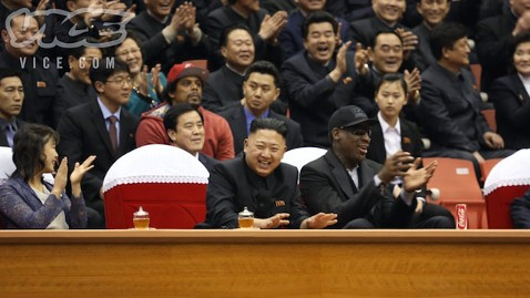 ht kim jong un dennis rodman ll 130228 wblog Rodman Worms His Way Into Kim Jong Un Meeting