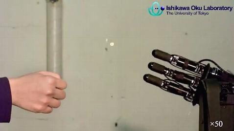 Taş kağıt robot