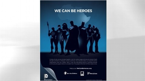 ht we can be heroes poster thg 120202 wblog Superman, Batman Join Fight to Save Horn of Africa